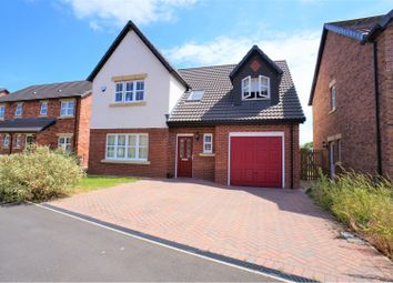 Thumbnail 4 bed detached house for sale in Maxwell Drive, Carlisle