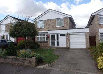 Thumbnail 4 bed detached house to rent in Hailes Close, Bedford