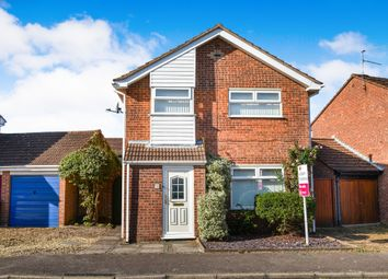 Thumbnail 4 bed detached house for sale in Pingles Road, North Wootton, King's Lynn