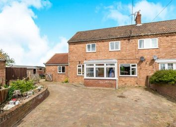 Thumbnail 3 bed semi-detached house for sale in Rumburgh, Halesworth, Suffolk