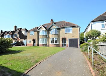 Thumbnail 4 bed semi-detached house for sale in Shrub End Road, Colchester