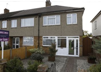 Thumbnail 3 bed end terrace house for sale in Southend Arterial Road, Hornchurch