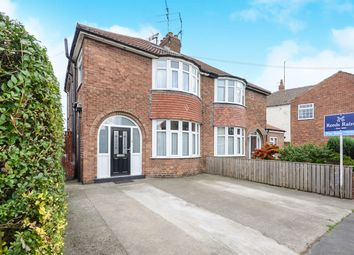 Thumbnail 3 bedroom semi-detached house for sale in Hull Road, York