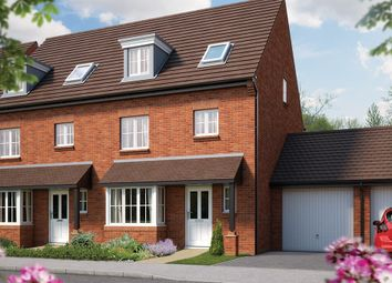 "Thumbnail 4 bedroom town house for sale in ""The Wimborne"" at Nottinghamshire, Edwalton"