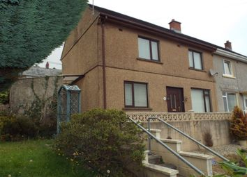 Thumbnail 3 bed semi-detached house for sale in Maesyfelin, Pontyberem, Llanelli