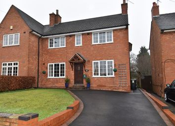 Thumbnail 4 bed semi-detached house for sale in Blackthorn Road, Bournville, Birmingham