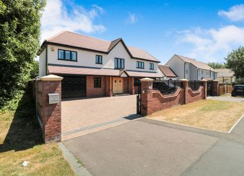 Thumbnail 5 bed detached house for sale in North Street, Nazeing, Waltham Abbey