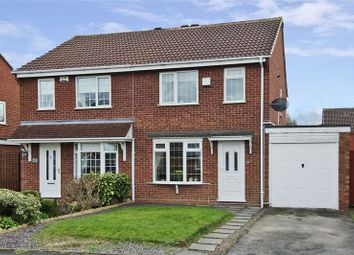 Thumbnail 3 bed semi-detached house for sale in Stagborough Way, Hednesford, Cannock