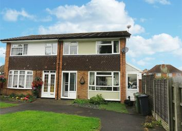 Thumbnail 3 bed semi-detached house for sale in Conway Close, Shirley, Solihull, West Midlands