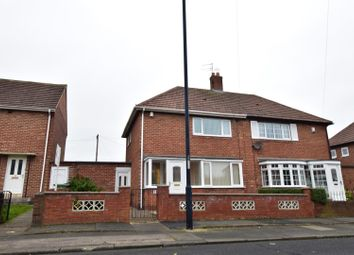 Thumbnail 2 bed semi-detached house for sale in Runnymede Road, Redhouse, Sunderland