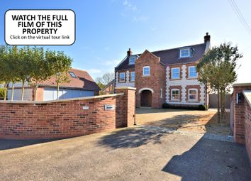 Thumbnail 6 bedroom detached house for sale in Main Road, Holme, Hunstanton