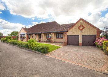 Thumbnail 4 bed detached bungalow for sale in Hunts Close, Doddington, March, Cambridgeshire