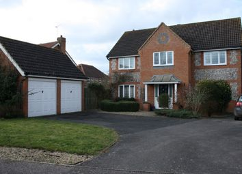 Thumbnail 5 bed detached house to rent in Arlington Way, Thetford, Norfolk