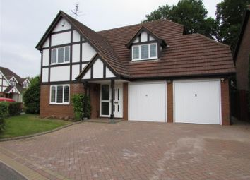 Thumbnail 4 bed detached house to rent in Manor Road, Dorridge, Solihull