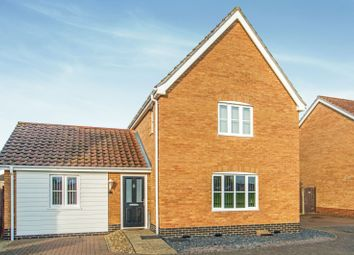 Thumbnail 3 bed detached house to rent in Caddow Road, Norwich