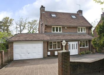 Thumbnail 4 bed detached house to rent in Christchurch Road, Wentworth, Virginia Water