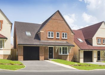 "Thumbnail 4 bedroom detached house for sale in ""Harrogate"" at Highfield, Froxhill Crescent, Brixworth, Northampton"