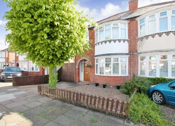 Thumbnail 3 bedroom semi-detached house for sale in Northfold Road, Knighton, Leicester