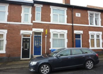 Thumbnail 4 bedroom shared accommodation to rent in Wild Street, Derby
