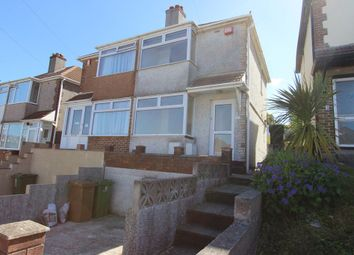 Thumbnail 2 bedroom semi-detached house to rent in Ferrers Road, Plymouth