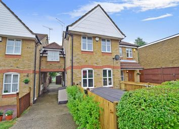 Thumbnail 1 bed end terrace house for sale in St. Clements Close, Northfleet, Gravesend, Kent