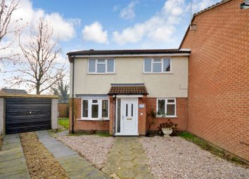 Thumbnail 3 bedroom semi-detached house for sale in Grosvenor Close, Glen Parva, Leicester