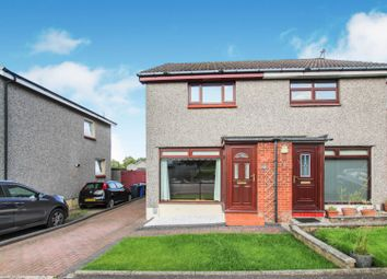 Thumbnail 2 bed semi-detached house for sale in Tanzieknowe Road, Glasgow