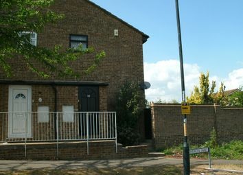 Thumbnail 1 bed end terrace house to rent in Heron Way, Walderslade