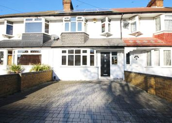 Thumbnail 3 bed terraced house for sale in Grasmere Avenue, Whitton, Middlesex