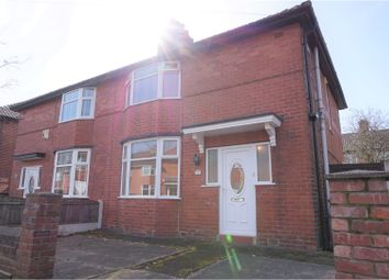 Thumbnail 3 bedroom semi-detached house for sale in Rosslyn Road, Moston