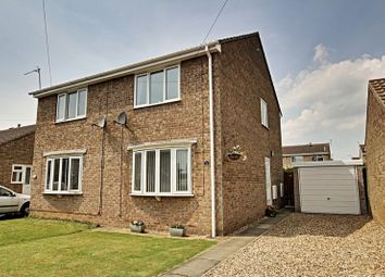Thumbnail 2 bed semi-detached house for sale in Poultney Garth, Hedon, Hull