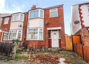 Thumbnail 3 bed semi-detached house for sale in Naseby Road, Rushey Mead, Leicester, Leicestershire