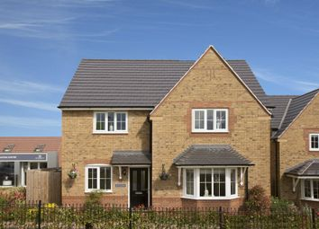 "Thumbnail 4 bed detached house for sale in ""Cambridge"" at Stanley Close, Corby"