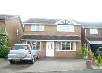Thumbnail 4 bed detached house to rent in Oatlands Way, Perton, Wolverhampton