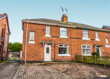 Thumbnail 3 bed semi-detached house for sale in Whinney Lane, Ollerton, Newark