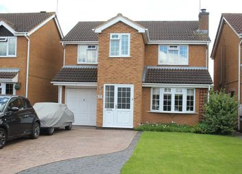 Thumbnail 4 bed detached house for sale in Rodney Close, Hinckley