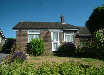 Thumbnail 2 bed semi-detached bungalow to rent in St. Davids Close, Long Stratton, Norwich