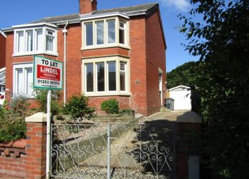 Thumbnail 2 bed semi-detached house to rent in Caunce Street, Blackpool