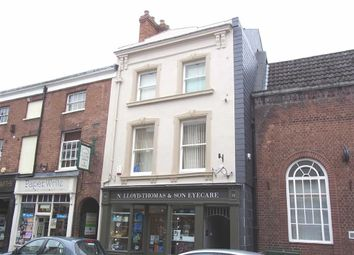Thumbnail 2 bed flat to rent in 15A, Church Street, Oswestry, Shropshire