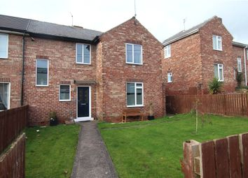 Thumbnail 3 bed semi-detached house for sale in Ushaw Villas, Ushaw Moor, Durham
