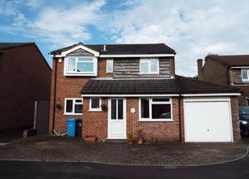Thumbnail 4 bedroom detached house for sale in Halstock Crescent, Poole