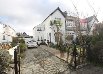 Thumbnail 4 bed semi-detached house for sale in Torr Lane, Hartley, Plymouth