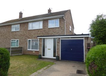 Thumbnail 3 bed semi-detached house for sale in Morville Drive, Wellington, Telford