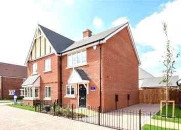 Thumbnail 2 bed semi-detached house for sale in St Georges Road, Badshot Lea, Farnham, Surrey