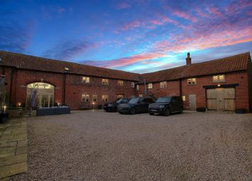 Thumbnail 4 bed barn conversion for sale in Manor Road, Easthorpe, Nottingham
