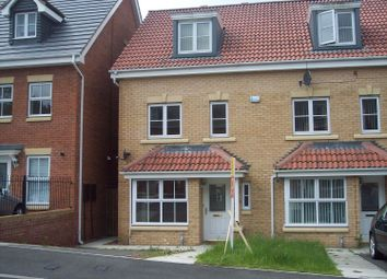 Thumbnail 4 bedroom town house for sale in Rosebud Close, Swalwell, Newcastle Upon Tyne