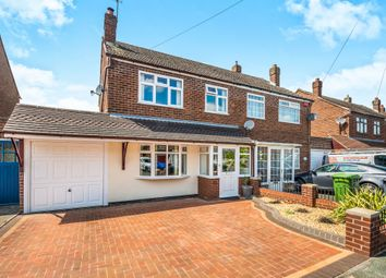 Thumbnail 3 bedroom semi-detached house for sale in Roderick Drive, Wednesfield, Wolverhampton