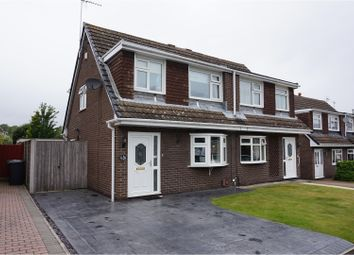 Thumbnail 3 bed semi-detached house for sale in Cartmell Close, Runcorn