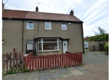 Thumbnail 4 bed end terrace house for sale in Veronica Crescent, Kirkcaldy