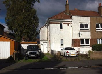 Thumbnail 2 bed flat for sale in Glencairn Road, Paisley